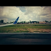 Photo taken at Sultan Thaha Syaifuddin Airport (DJB) by jerry m. on 2/12/2013