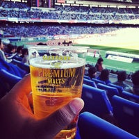 Photo taken at Nissan Stadium by bronto on 4/13/2013