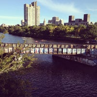 Photo taken at Boston University Bridge by Vicky C. on 9/20/2012