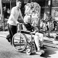 Photo taken at Hongyi Plaza by Renaud E. on 9/28/2012