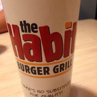 Photo taken at The Habit Burger Grill by Heather S. on 4/7/2014