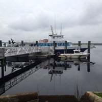 Photo taken at Cumberland Lady (ferry To Cumberland Island) by Nicole L. on 4/6/2014