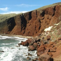 Photo taken at Red Beach by George X. on 4/19/2014