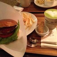 Photo taken at CAFE ZARAME by Nobuaki M. on 11/12/2012