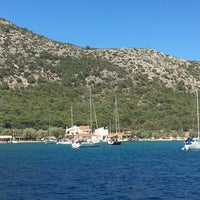 Photo taken at Poseidonio by Hatice K. on 9/2/2017