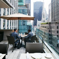 Photo taken at Club Quarters Hotel, opp Rockefeller Center by Club Quarters Hotels on 6/21/2016