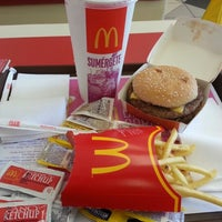 Photo taken at Mc Donald's by Erica C. on 10/18/2012