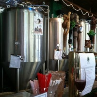 Photo taken at Bullfrog Brewery by Valerie R. on 11/11/2012