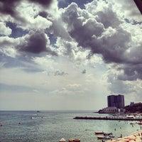 Photo taken at Black Sea by Сергей П. on 7/26/2013
