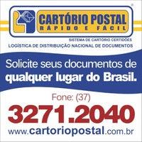 Photo taken at Cartório Postal Pitangui by Bruna G. on 2/4/2013