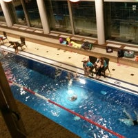 Photo taken at Aqua Salza Golling by Ferienwohnung T. on 12/17/2014