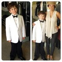 Photo taken at Elly's Formal Wear & Bridal by Terri E. on 5/3/2013