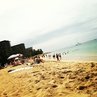 Photo taken at Kā'anapali Beach by Terri E. on 3/20/2013