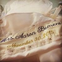 Photo taken at Elly's Formal Wear & Bridal by Terri E. on 11/14/2015
