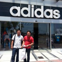 Photo taken at Adidas Concept Store Kuala Terengganu by Ikhwan A. on 5/1/2016