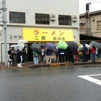 11/8/2015にゆうめぐがラーメン二郎 新潟店で撮った写真