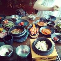 Photo taken at 박현자네 더덕밥 by Isaac P. on 6/7/2014