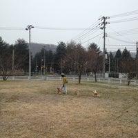 Photo taken at 松原公園 by Naosan m. on 12/22/2012