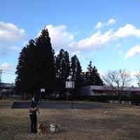 Photo taken at 松原公園 by Naosan m. on 1/6/2013