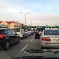 Снимок сделан в Погранпереход Мамоново-2 — Гжехотки пользователем Sergey S. 10/4/2012