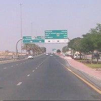 Photo taken at Al Khawaneej Road by ItsMβŚ ♚. on 10/18/2012