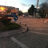 Photo taken at Ortaköy Meydanı by Özgür U. on 1/19/2018