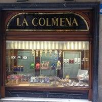 Photo taken at La Colmena by Platos Barcelona on 7/8/2013