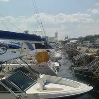 Photo taken at Яхт-клуб «Посейдон» by Yuliya S. on 8/7/2013