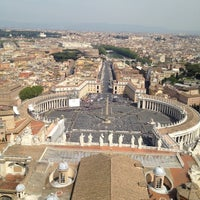 Photo taken at Saint Peter's Square by Filipe C. on 4/24/2013