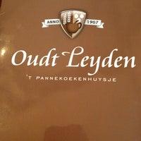 Photo taken at Pannenkoekenhuys Oudt Leyden by Karma v. on 12/31/2012