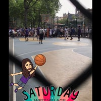 Photo taken at West 4th Street Courts (The Cage) by Regan C. on 7/8/2017