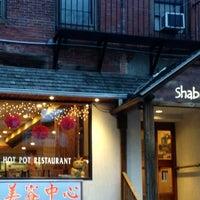 Photo taken at Shabu Zen by Tricia T. on 2/3/2013
