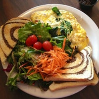 Photo taken at Soup Spoon Cafe by Tricia T. on 2/17/2013