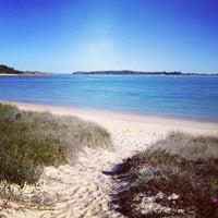 Photo taken at Yarra Bay by Tony H. on 8/11/2013