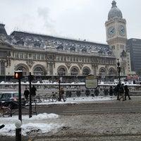 Photo taken at Paris Lyon Railway Station by Marco Adiles M. on 1/27/2013