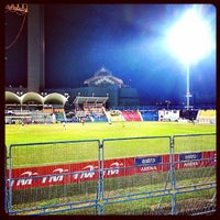 Photo taken at Stadium Sultan Ismail Nasiruddin Shah by Dailami Daniel on 7/6/2013
