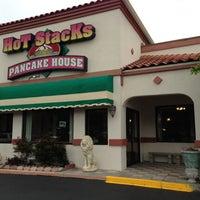 Photo taken at Hot Stacks Pancake House by Chris G. on 4/19/2013