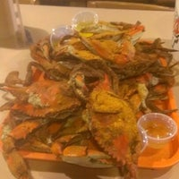 Photo taken at Fat Boys Crab Shack by Dwayne S. on 12/10/2012
