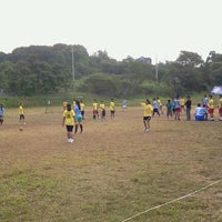 Photo taken at San Beda College Rizal Soccer Field by RonelLenard A. on 11/27/2012