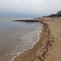 Photo taken at Popponesset Beach by Jennifer S. on 12/31/2013