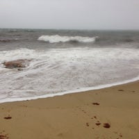 Photo taken at Popponesset Beach by Jennifer S. on 11/27/2013