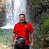 Photo taken at Curug ngumpet by Suryawan P. on 8/23/2014