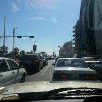 Photo taken at تقاطع البلاجات وشارع المطاعم by Reeham J. on 11/1/2012