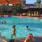 Photo taken at Caliente Tropics Resort Hotel by Caliente Tropics Resort Hotel on 8/6/2015