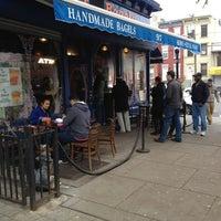 Photo taken at Wonder Bagels by Jason M. on 12/2/2012