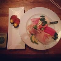 Photo taken at Sushi Saurus by Jamison on 4/25/2013