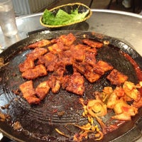 Photo taken at Honey Pig Gooldaegee Korean Grill by Nathan D. on 10/23/2012