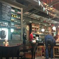 Photo taken at The Tin Goose (Pub & Kitchen) by Ks T. on 7/3/2013
