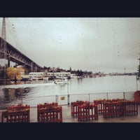 Photo taken at Ivar's Salmon House by Starlit S. on 12/9/2012