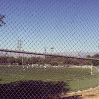 Photo taken at Griffith Park - Artificial Turf Soccer Field by Ricardo J. S. on 9/15/2013